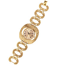 Buy Susan Caplan Vintage 1970s Vendome Gold Plated Cocktail Watch, Gold Online at johnlewis.com