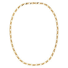 Buy Susan Caplan Vintage 1970s Monet Gold Plated Chain Necklace, Gold Online at johnlewis.com