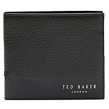 Buy Ted Baker Mixdup Textured Leather Wallet Online at johnlewis.com