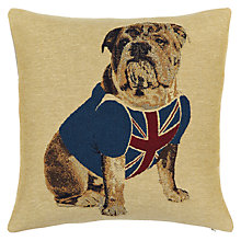 Buy John Lewis Bulldog Cushion, Multi Online at johnlewis.com