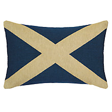 Buy John Lewis Saltire Cushion Online at johnlewis.com