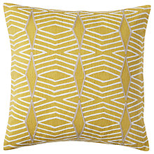 Buy west elm Diamond Stripe Cushion Online at johnlewis.com