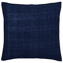 Buy west elm Silk Hand Loomed Cushion Online at johnlewis.com