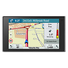 Buy Garmin DriveLuxe 50LMT-D Sat Nav With Bluetooth & Lifetime Map Updates, Full Europe Online at johnlewis.com