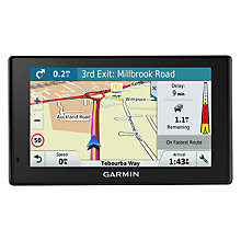 Buy Garmin DriveSmart 50LMT-D Sat Nav With Bluetooth & Lifetime Map Updates, Full Europe Online at johnlewis.com