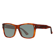 Buy Gucci GG 1149/S Square Sunglasses, Tortoise/Grey Green Online at johnlewis.com