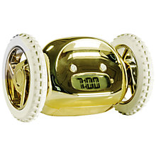 Buy Suck UK Clocky Alarm Clock, Gold Online at johnlewis.com
