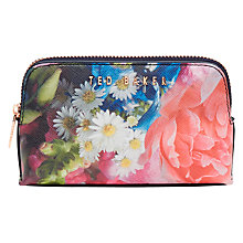 Buy Ted Baker Alliss Focus Makeup Bag, Multi Online at johnlewis.com