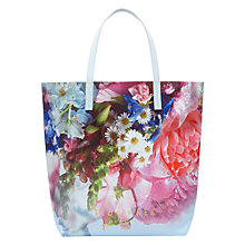 Buy Ted Baker Nellee Focus Shopper Bag, Blue Online at johnlewis.com