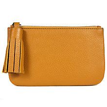 Buy John Lewis Rosa Leather Coin Tassel Purse Online at johnlewis.com