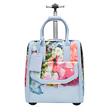 Buy Ted Baker Vickey Focus Bouquet Travel Bag, Pale Blue Online at johnlewis.com
