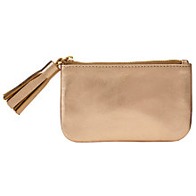 Buy John Lewis Rosa Tassel Coin Purse, Gold Online at johnlewis.com