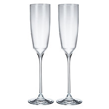 Buy Social by Jason Atherton Crystal Flute, 200ml, Set of 2 Online at johnlewis.com