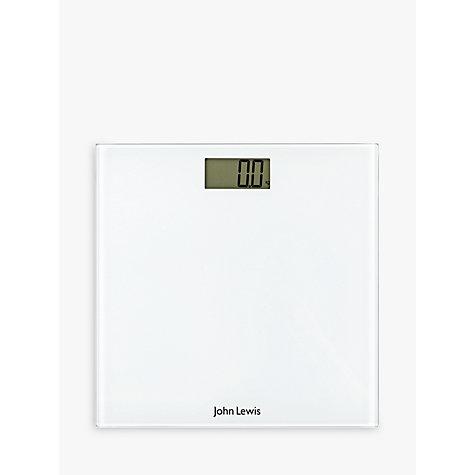 Buy John Lewis Digital Bathroom Scale White John Lewis