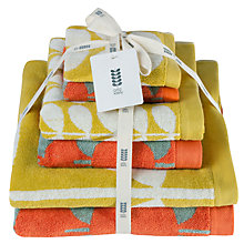 Buy Orla Kiely Mixed Stem 6 Piece Towel Bale Online at johnlewis.com