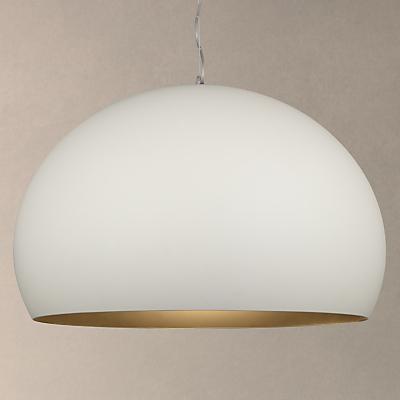 Kartell Fly Soft Touch Pendant Ceiling Light, Medium, White