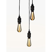 Buy Buster + Punch Hooked 3.0 Nude Cluster Ceiling Light, Smoked Bronze Online at johnlewis.com