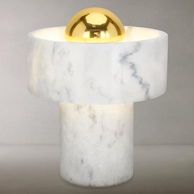 Tom Dixon Stone Table Lamp, Marble