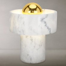 Buy Tom Dixon Stone Table Lamp, Marble Online at johnlewis.com