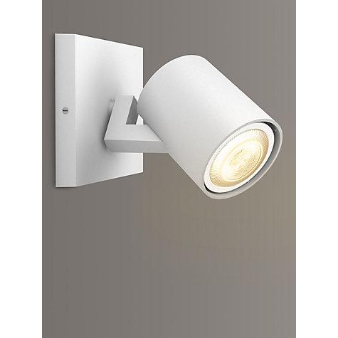 buy philips hue runner led warmglow spotlight 1 light john lewis. Black Bedroom Furniture Sets. Home Design Ideas