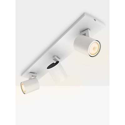 Philips Hue Runner LED Spotlight, 3 Light