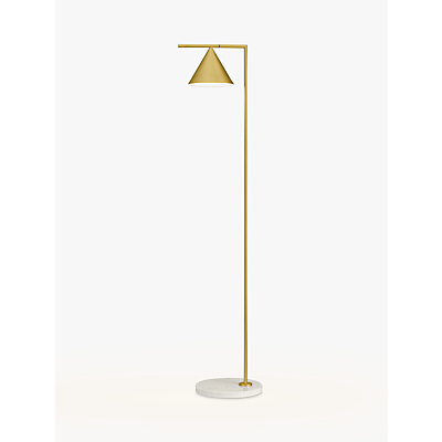Flos Captain Flint LED Floor Lamp, Brass