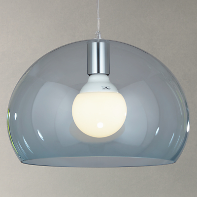 Kartell Fly Small Ceiling Light, Sky Blue