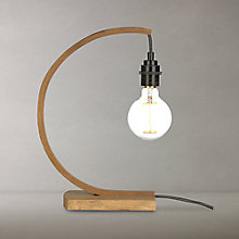 Buy Tom Raffield Hanter Table Lamp, Oak Online at johnlewis.com