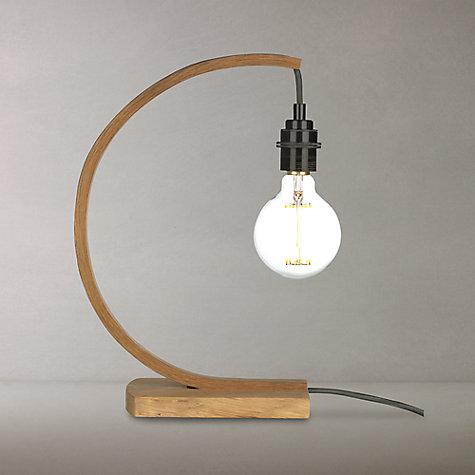 buy tom raffield hanter table lamp oak john lewis. Black Bedroom Furniture Sets. Home Design Ideas