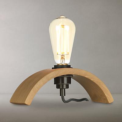 Tom Raffield Archer Table Lamp, Oak