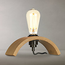Buy Tom Raffield Archer Table Lamp, Oak Online at johnlewis.com
