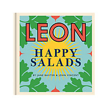 Buy LEON Happy Salads Recipe Book Online at johnlewis.com
