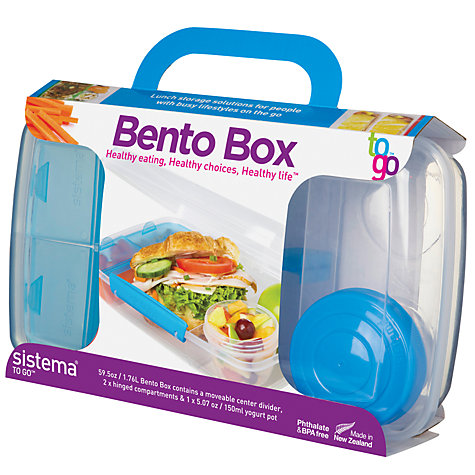 bento lunch box south africa buy sistema bento lunch box assorted john lewis buy sistema bento. Black Bedroom Furniture Sets. Home Design Ideas