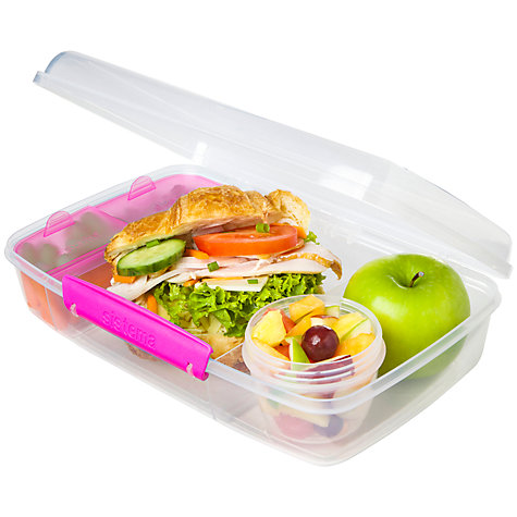 buy sistema bento box food storage container john lewis. Black Bedroom Furniture Sets. Home Design Ideas