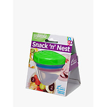Buy Sistema Snack and Nest Food Storage Container, Assorted Online at johnlewis.com