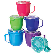 Buy Sistema Soup Mug To Go, 565ml, Assorted Online at johnlewis.com