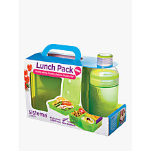 Buy Sistema To Go Lunch Tub, Assorted Online at johnlewis.com