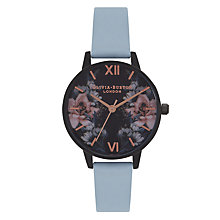 Buy Olivia Burton Women's After Dark Leather Strap Watch Online at johnlewis.com