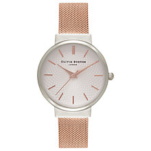 Buy Olivia Burton Women's The Hackney Bracelet Strap Watch Online at johnlewis.com
