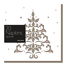 Buy John Lewis Ostravia Napkins, Pack of 20 Online at johnlewis.com