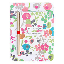 Buy Caroline Gardner Ditsy Kitchen Jotter Online at johnlewis.com