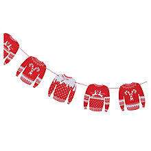 Buy Ginger Ray Merry Christmas Wooden Bunting Online at johnlewis.com