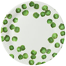 Buy Talking Tables Brussels Sprouts Paper Plates, Pack of 8 Online at johnlewis.com