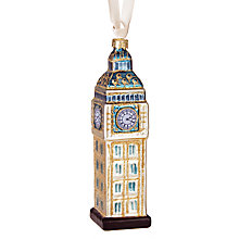 Buy John Lewis Tourism Big Ben Bauble Online at johnlewis.com