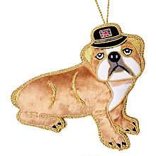 Buy Tinker Tailor Tourism British Bulldog Tree Decoration Online at johnlewis.com