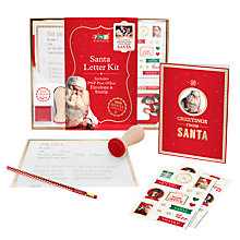 Buy Portable North Pole Letter Writing Kit Online at johnlewis.com
