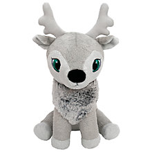 Buy Portable North Pole Reindeer Hani Santa's Littlest Reindeer Plush Toy Online at johnlewis.com