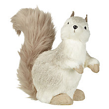 Buy John Lewis Snowshill Squirrel, Silver Online at johnlewis.com
