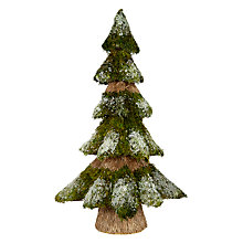 Buy John Lewis Ruskin House Mossy Tabletop Tree, Large Online at johnlewis.com