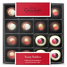 Buy Hotel Chocolat Toasty Toddies, Box of 16, 100g Online at johnlewis.com
